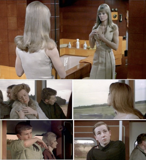 Image 6. Stills from Francois Truffaut's film adaptation of Fahrenheit 451.xiv