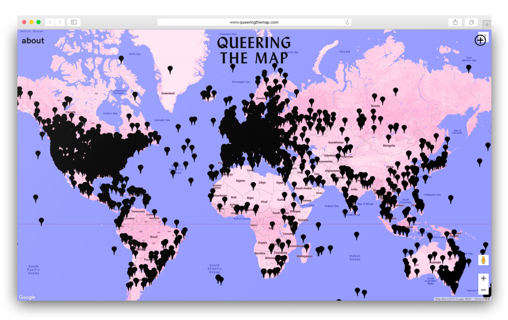 QUEERING THE MAP